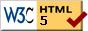 Valid HTML 5!